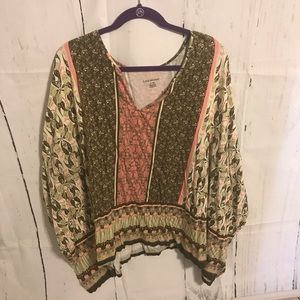 Lane Bryant Shirt With Wide sleeves 26/28